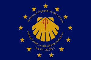 Blue and yellow logo